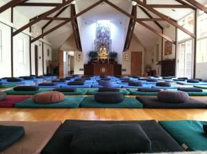 Meditation Class - Meditation Instruction - Providence Zen Center - dharma room
